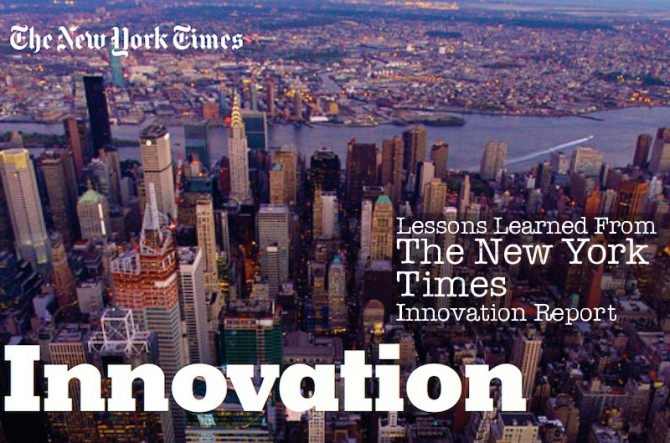 The New York Times Innovation Report: The Cliff Notes