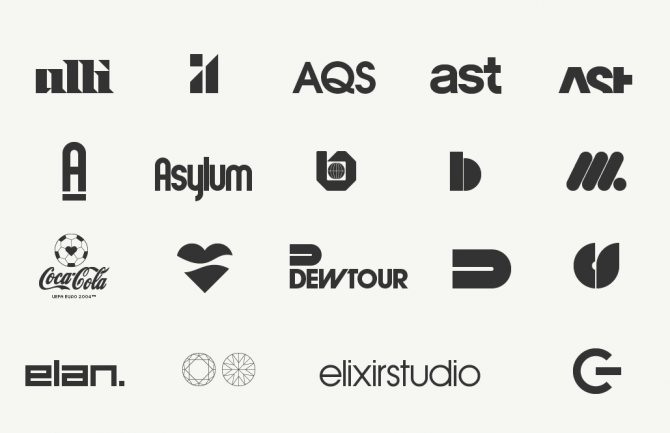 A family reunion of used, unused and downright refused logos