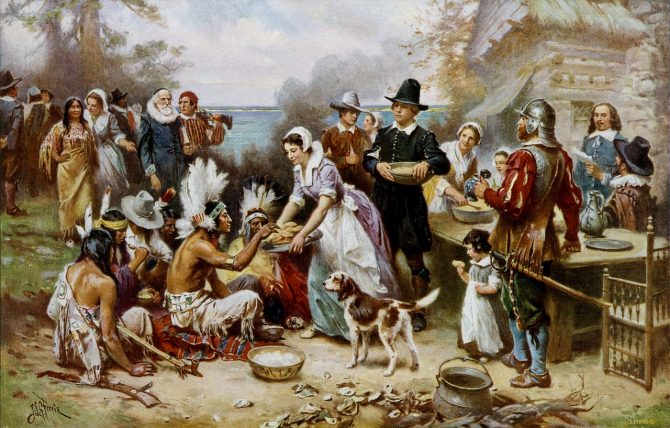 Mike's Historical Half Truths: Thanksgiving